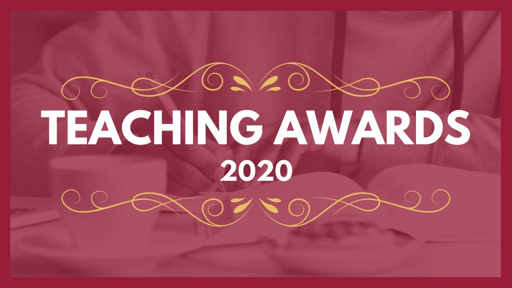 Teaching awards 2020