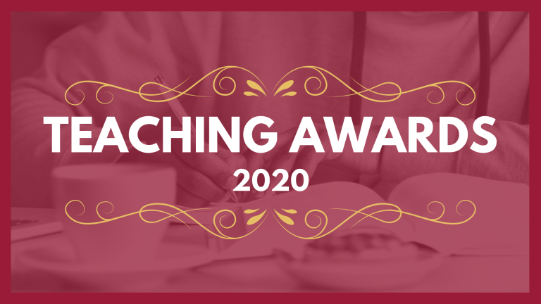 Teaching awards 2020