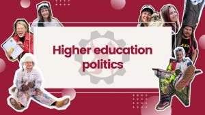 Higher education politics
