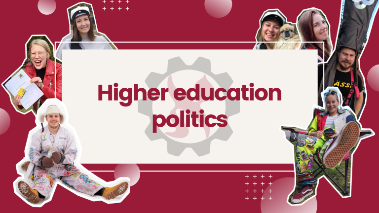 Higher education politics