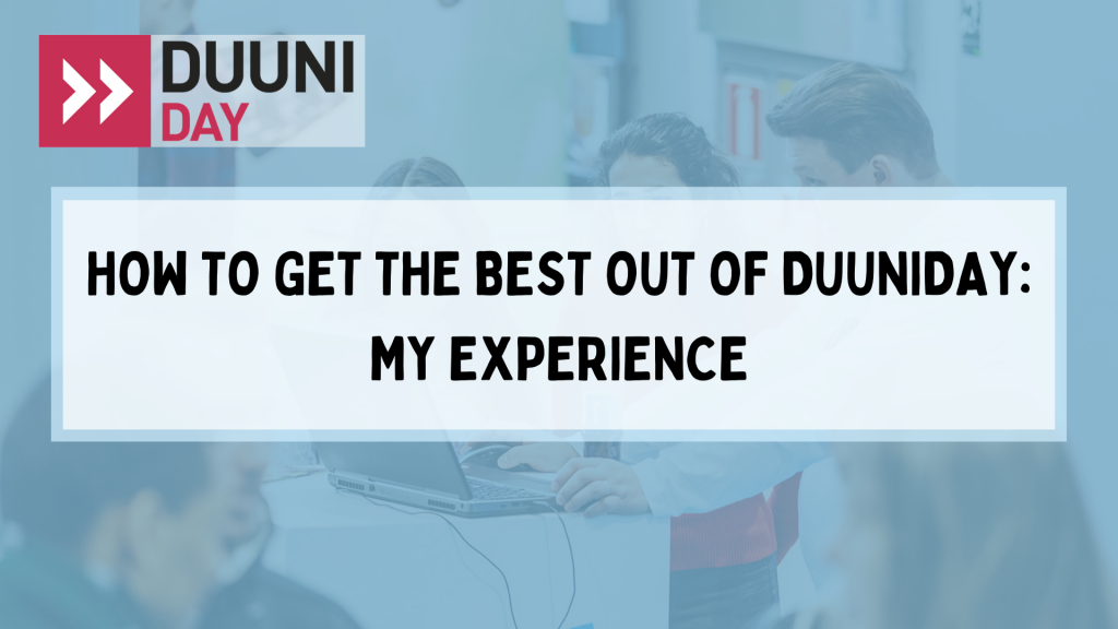 How to get the best out ofDuuniDay: My experience