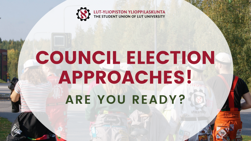Council election approaches! Are you ready?